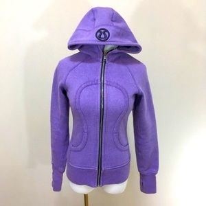 Lululemon sparkle scuba hoodie purple cuddle